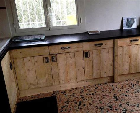 Kitchen Cabinet Doors From Pallets by 25 Best Ideas About Pallet Kitchen Cabinets On