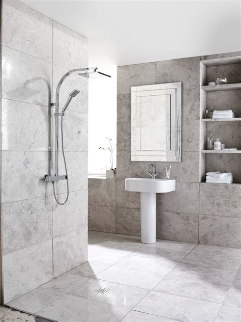 Travertine Bathroom Tiles by Silver Honed Filled Travertine Tiles Travertine We