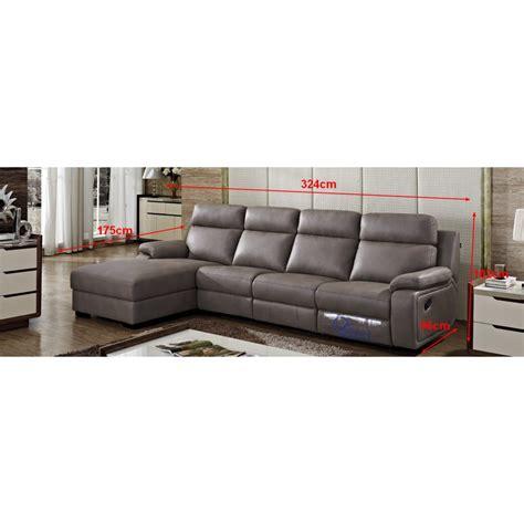 canapé en cuir leguide canapé d 39 angle en cuir relax adrien pop design fr
