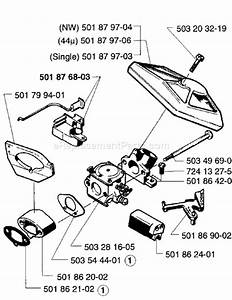 husqvarna 257 parts list and diagram 1996 01 With walbro hda1151 parts list and diagram ereplacementpartscom