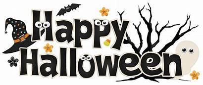 Halloween Clipart Happy Clip October Sign Banner
