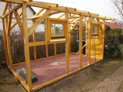 Gerätehaus Selber Bauen Holz by Gartenhaus Selber Bauen Konstruktion Sef In 2019