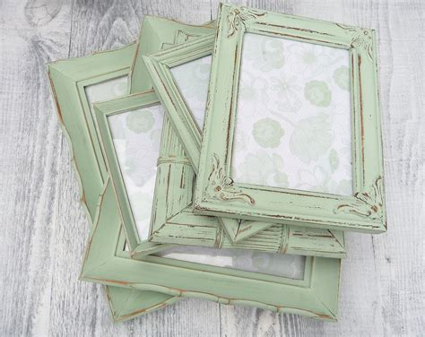 green shabby chic shabby chic green frames jpg 1500 215 1193 country shabby chique