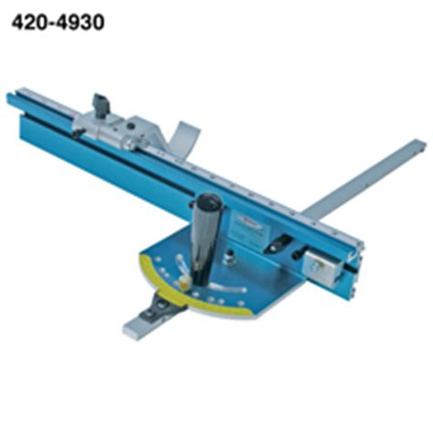 precision miter gauge system table  eagle america