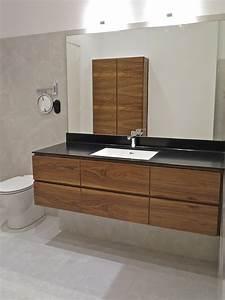 sdb noyer corian raboniak mobilier design With mobilier sdb