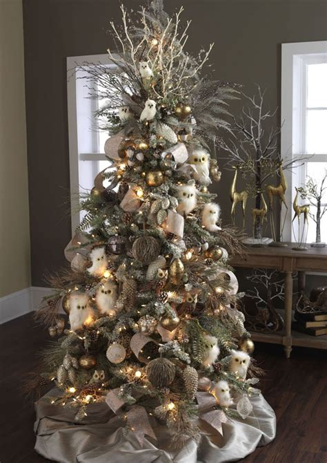 owl tree forest frost christmas pinterest
