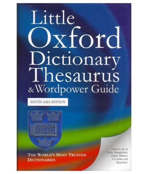 dictionary for little oxford dictionary thesaurus and wordpower guide buy little oxford dictionary thesaurus