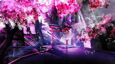 Anime Background Wallpaper - anime landscape wallpaper hd pixelstalk net