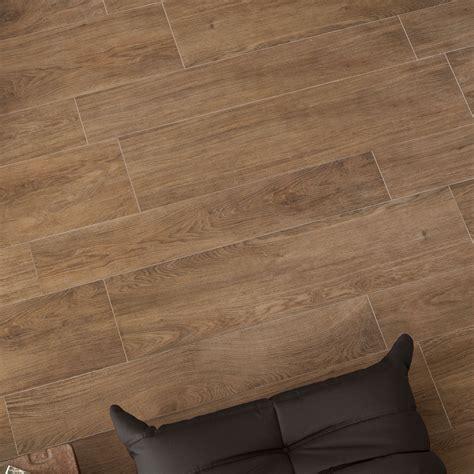 rectified tile trendwood oak natural glazed porcelain rectified floor tile