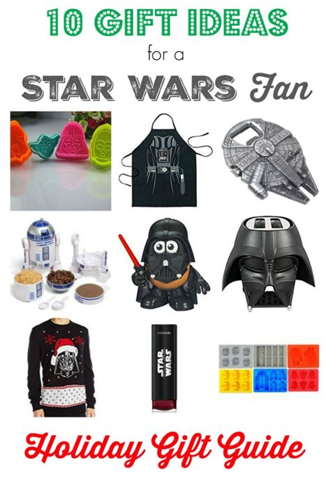 holiday gift ideas for star wars fans