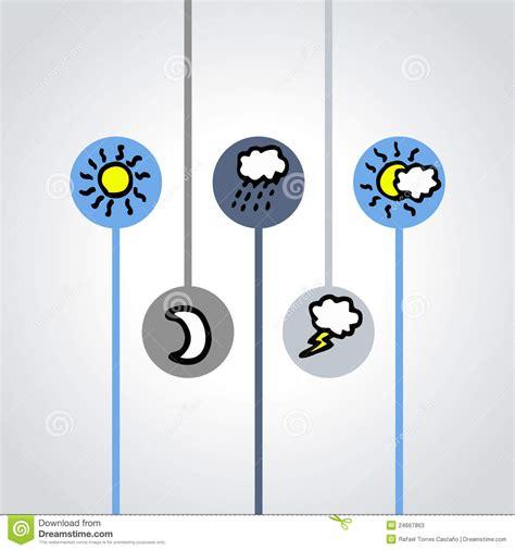 symbols weather symbolen weer het