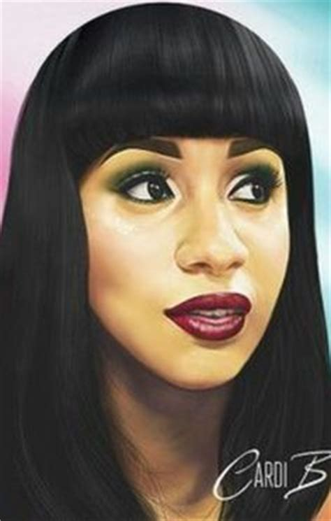 CARDI B IN DA HOUSE | BLUE IS HER NAME | Pinterest | Coiffure Cheveux and Mode