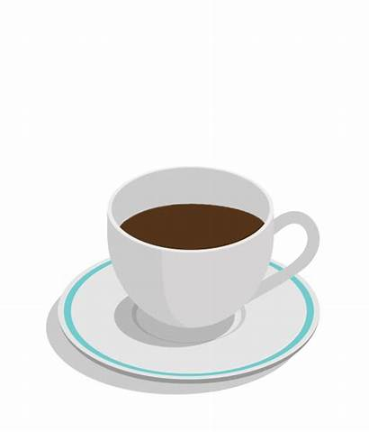 Coffee Cup Animated Cups Transparent Clipart Animation