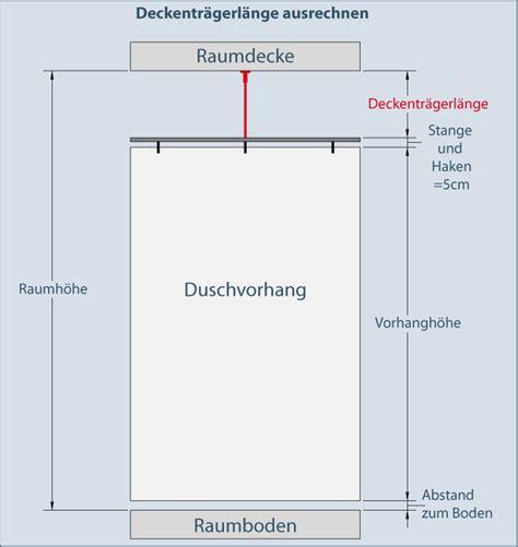 Gardinenstange Abstand Zur Decke by Innenlauf Duschvorhangstange 216 20mm Gerade Edelstahl