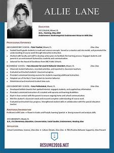 Resume templates 2016 o which one should you choose for What is the best resume template