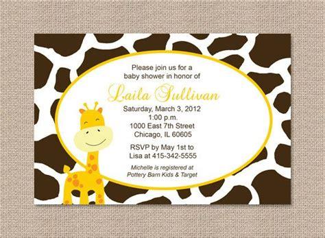 tropical floral baby shower invitation tropical luau printable or printed jirafa tema