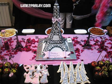 paris theme birthday party decorations paris themed
