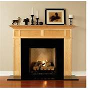 Lincoln 72Inch Wood Fireplace Mantel Shelf