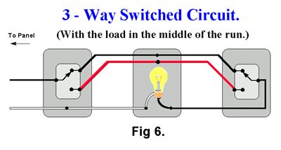 Three Way Switch With Light The Middle Electrical