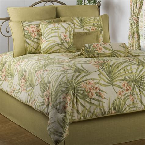 palm grove tropical tree comforter bedding marvelous