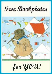 jennuine by rook no 17 vintage nursery animals With free bookplate template