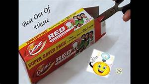 How to reuse your waste colgate packet, recycle colgate ...