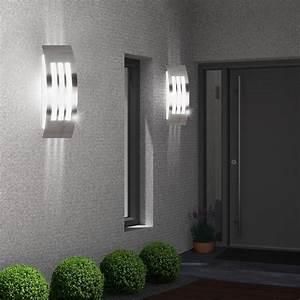 Design au en bereich wand leuchte terrassen park lampe for Terrassen wandleuchte