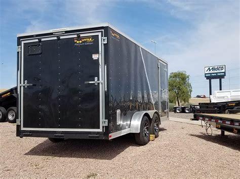 doolittle ft enclosed cargo trailer  sale chandler az  mylittlesalesmancom