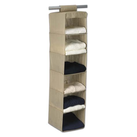 sweater storage breathable hanging sweater organizer in hanging closet shelves