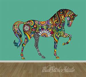 Wall decal awesome home design ideas with horse decals for Horse wall decals