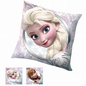 Coussin Reine Des Neiges : frozen reine des neiges coussin reversible 40 x 40 cm ~ Mglfilm.com Idées de Décoration