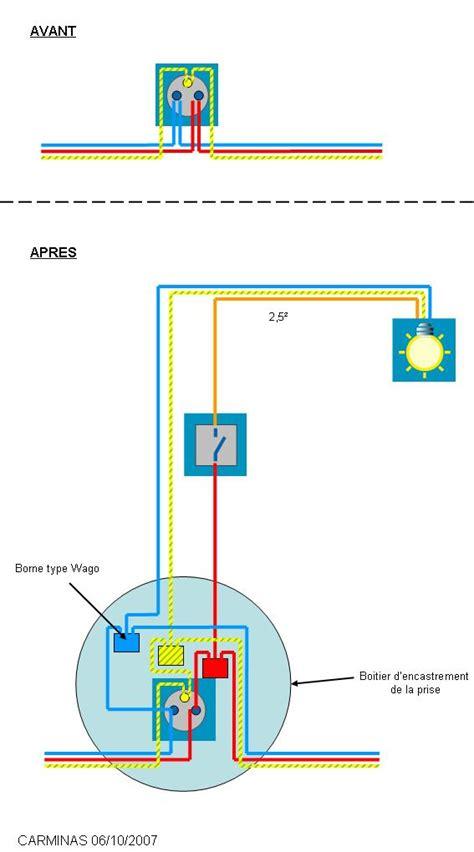neon pour cuisine conseils électricité schéma pour repiquer un interrupteur sur une prise déjà existante