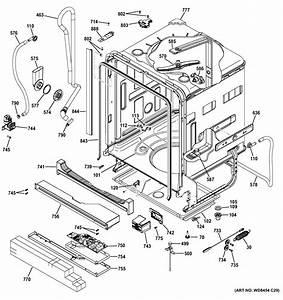 Body Parts Diagram  U0026 Parts List For Model Ddt575ssf0ss Ge
