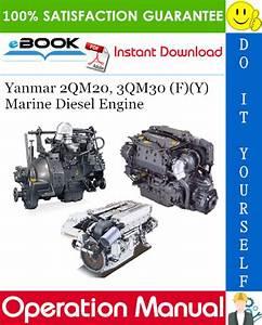Download Yanmar 2qm20 Manual  Download  Operation Manual