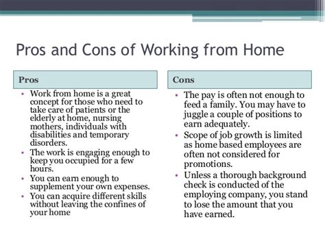 pros and cons of working from home best for you part time work from home or freelance