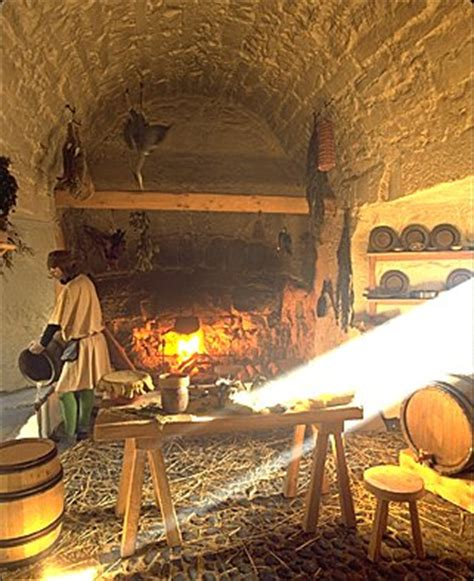 17th century cuisine image the 17th century kitchen with open and cooking
