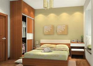 Simple interior design ideas for small bedroom for Interior design bedroom 3x3