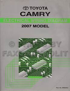 2007 Toyota Camry Solara Wiring Diagram Manual Original