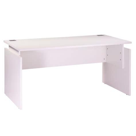 bureau 80 cm bureau 160 x 80 cm blanc réglable en hauteur ineo beaux