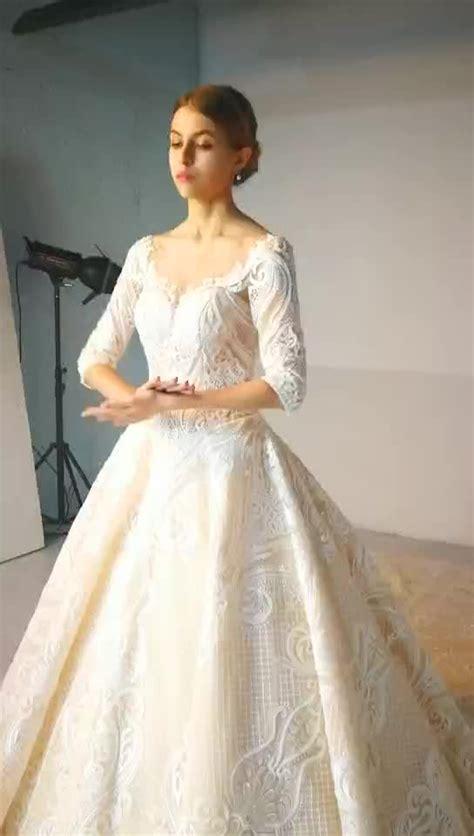 western wedding dresses  dubai ruffle sweetheart