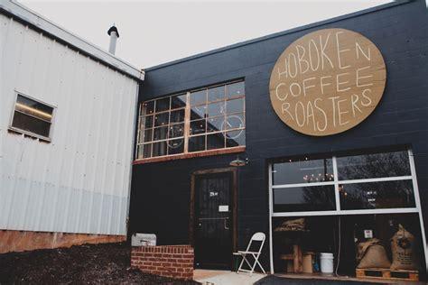 Great little coffee shop 23/06/2019. hoboken coffee roasters. round sign. | 인테리어, 표지판