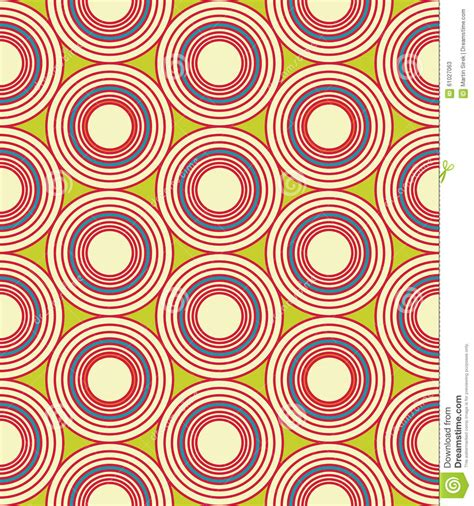 vector modern seamless colorful geometry circles pattern