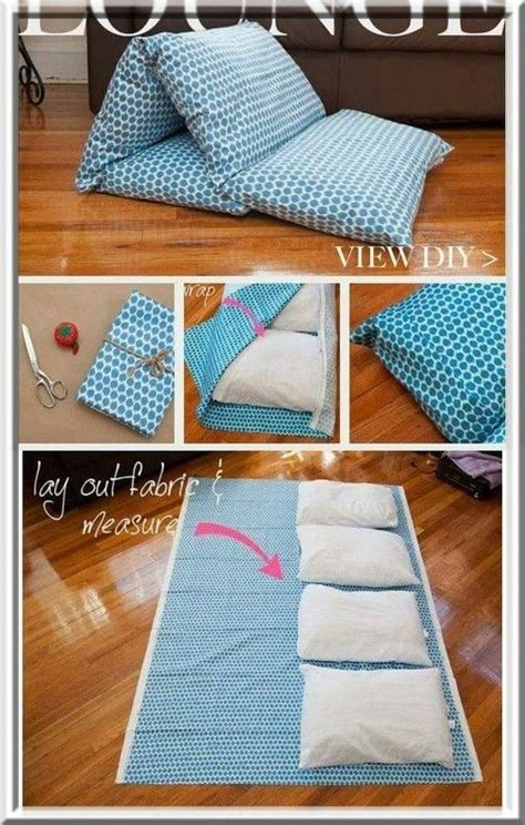 faire un drap housse facile les 25 meilleures id 233 es de la cat 233 gorie matelas oreillers sur cadeaux faits maison