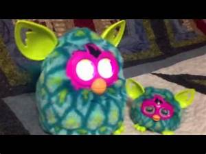 Furby boom peacock with the peacock furby boom furbling ...