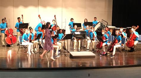 middle school orchestra takes st place flags museum