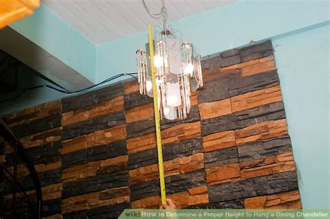 Proper Chandelier Height by How To Determine A Proper Height To Hang A Dining Chandelier