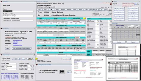 Electronic Pilot Logbook (U.S.) - .. all FAA aircraft