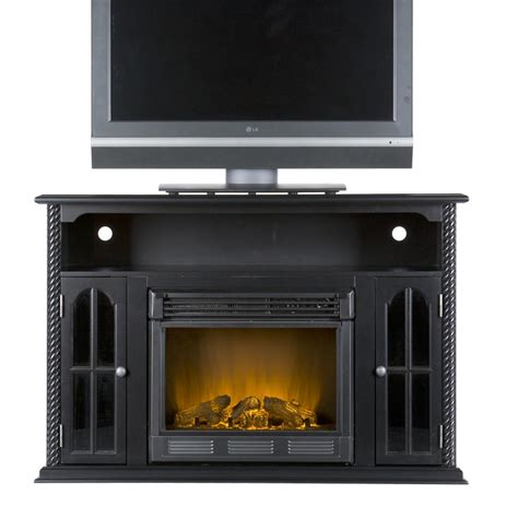 media center with fireplace fa9343e southern enterprises tillman electric fireplace