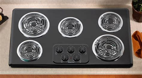 magic chef cecaab   electric cooktop   coil burners infinite heat controls