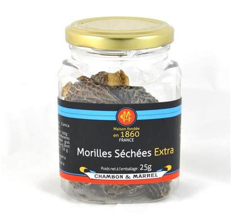 cuisiner morilles fraiches morilles séchées 25g chignons morilles à